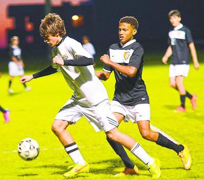 Packer senior soccer player Garrett Moore