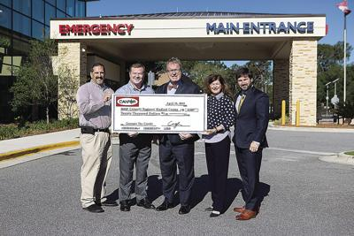 Canfor gives $20,000 to Colquitt Regional