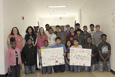 Williams Middle School Science Club collects for Humane