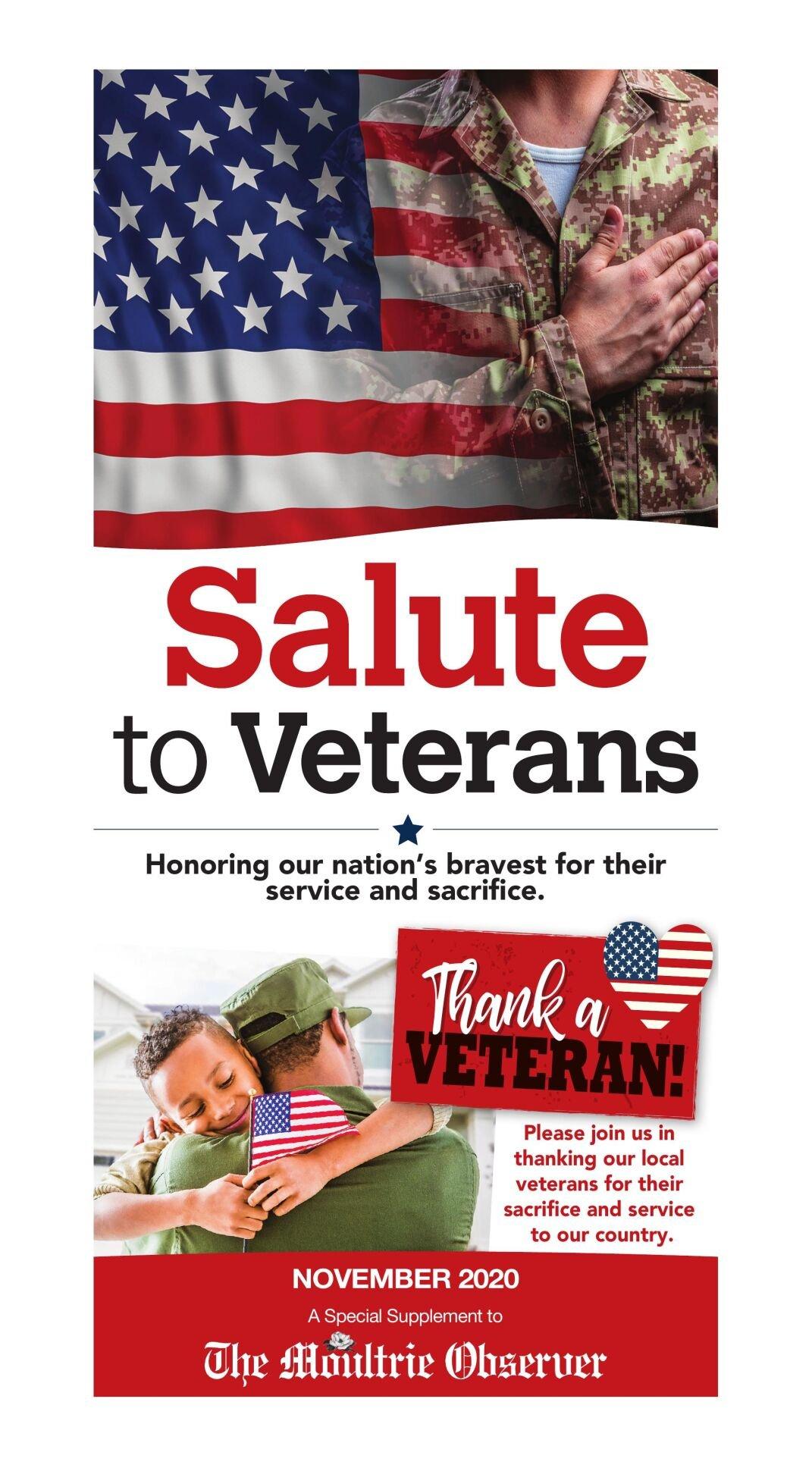 Salute to Veterans, 2020
