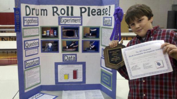 lynch wins regional science fair honors