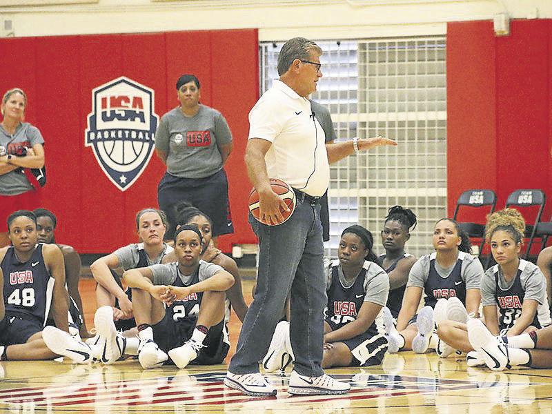 Team USA camp