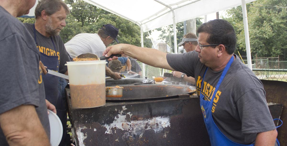 Serving chowder