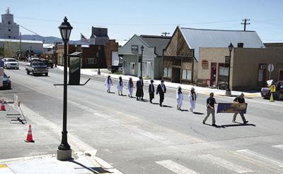 Camas High School Graduation Parade