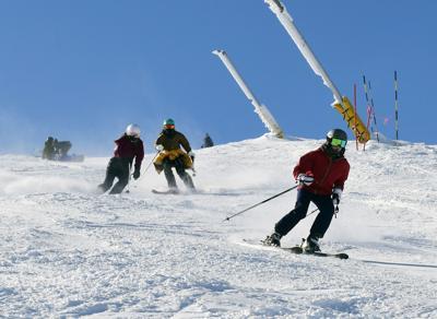 Baldy Skiers