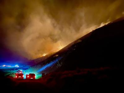 Quigley Canyon Fire