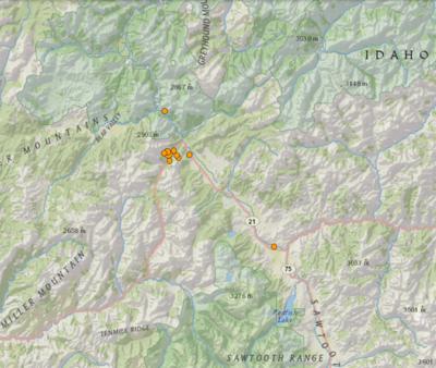 20-06-26 USGS Earthquake Map