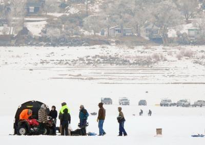 Magic Reservoir Ice Fishing