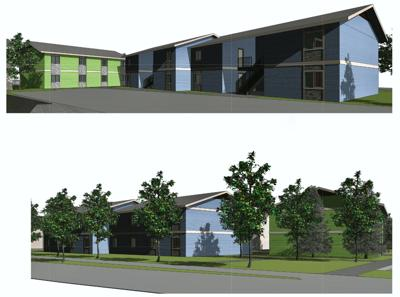 Valley View Apartments Rendering