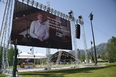 Sun Valley Music Festival Pavilion Screen