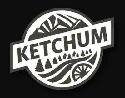 New Ketchum Logo Black & White