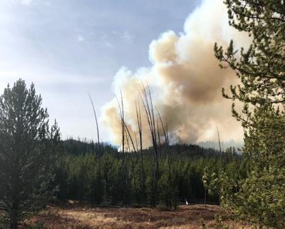 Boundary Fire, Oct. 7