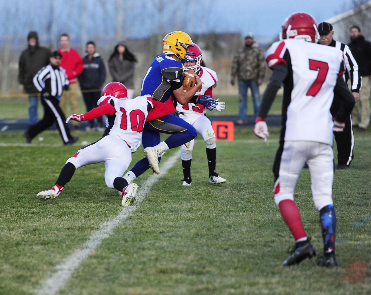 Carey had 349 yards of offense on Nov. 1 in a home win against the Mackay Miners.