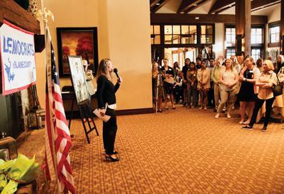 Senate Minority Leader Michelle Stennett