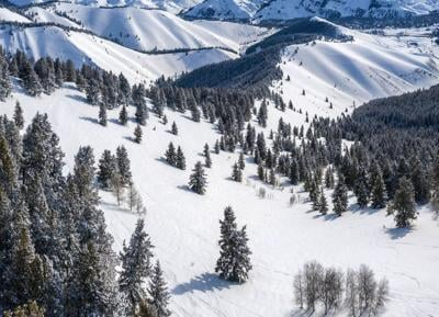 Sun Valley expansion opens this season — top looking down
