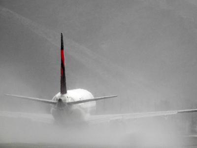 Hazy Airport