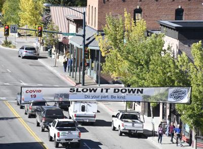 Ketchum Slow It Down Main Street