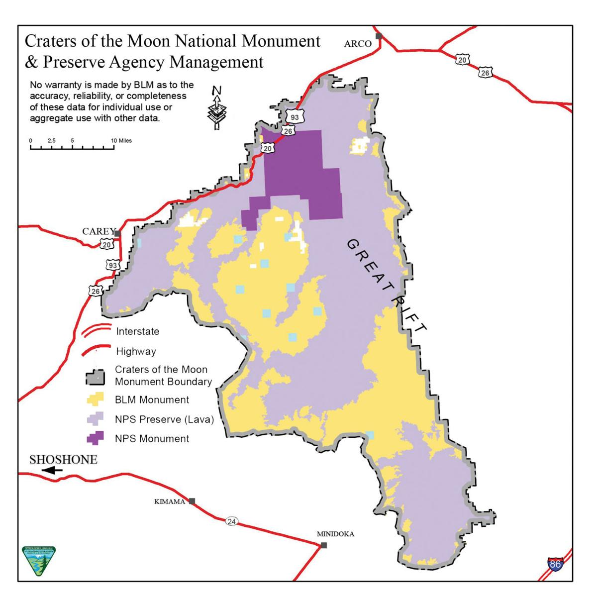 Grazing to continue as before at Craters of the Moon | Environment ...