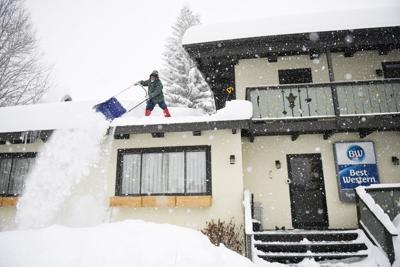 Snowy Roof Tyrolean Lodge