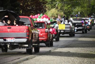 WRHS Graduation Parade