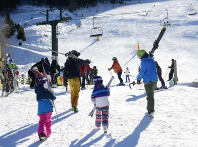 Warm Springs COVID Skiing