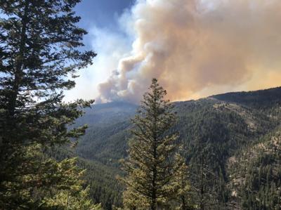 Boundary Fire, Sept. 1