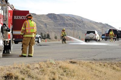 2-vehicle crash closes lane of highway | Blaine County