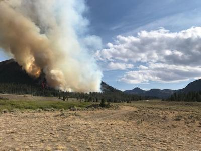 Muldoon Fire, Aug. 17
