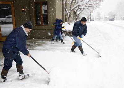 Snow Shoveling Ketchum