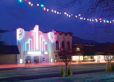 Liberty Theatre Hailey Dusk