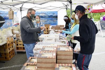 Ketchum Farmer's Market Face Masks June