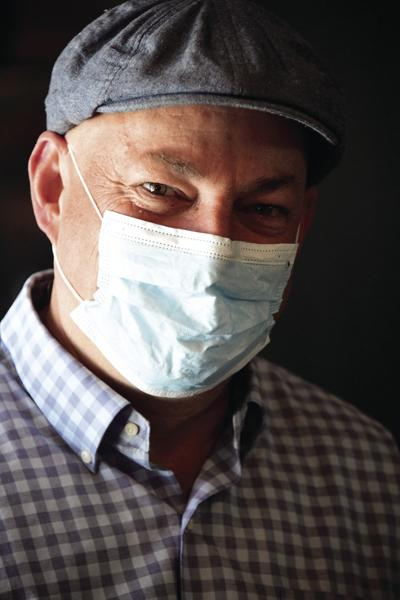 Neil Bradshaw mask
