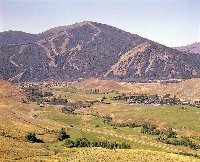 Bald Mountain circa 1955