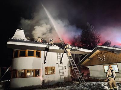 Canyon House Fire