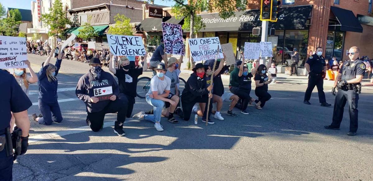 George Floyd Protest  Hailey 2