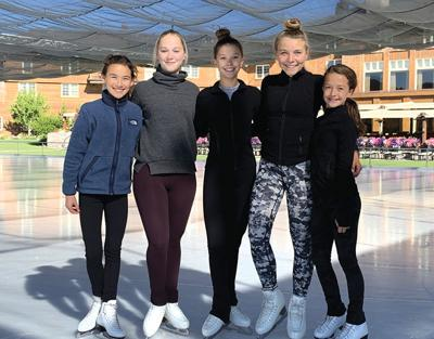 Sun Valley Figure Skating Club skaters