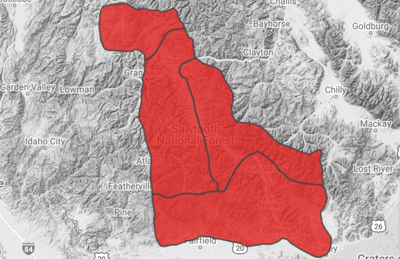 Avalanche Map