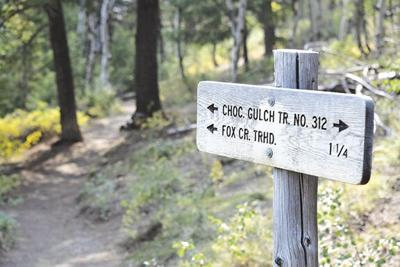 Colorado Gulch Sign