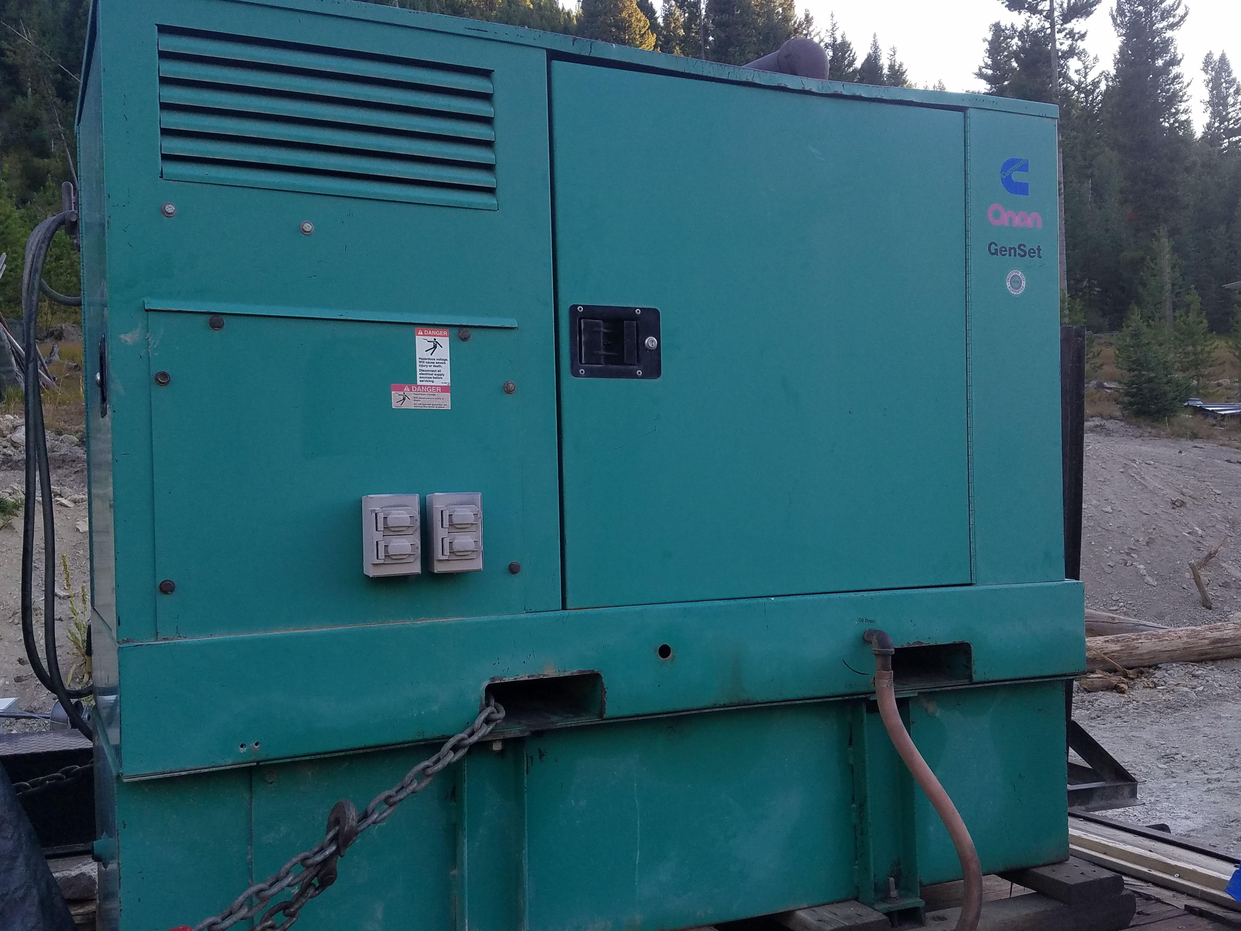 Onan 25KW Diesel Generator image 1