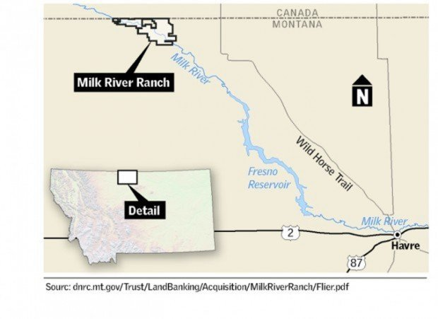 Landowners Protest State S Purchase Of Milk River Ranch State And