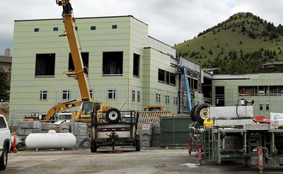 New building on Tech campus takes shape