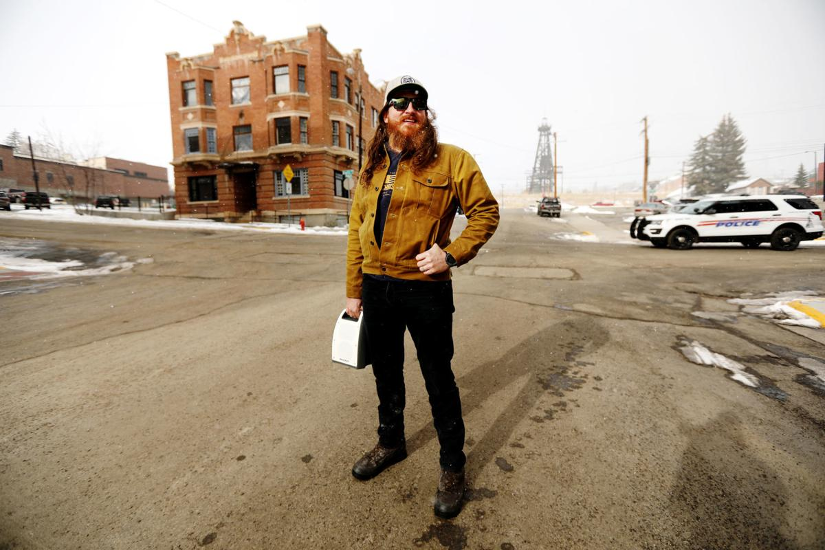 Tim Montana films new music video in Butte