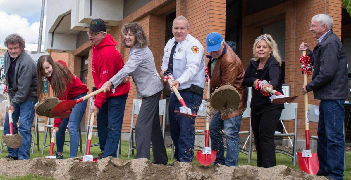 """Shovel brigade"" breaks ground on warehouse disaster memorial Sunday"