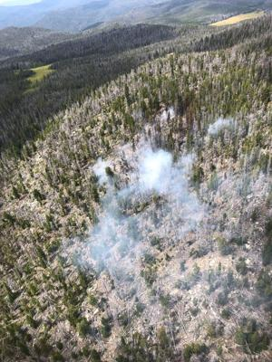 McClusky Fire near Delmoe Lake grows, and so does response