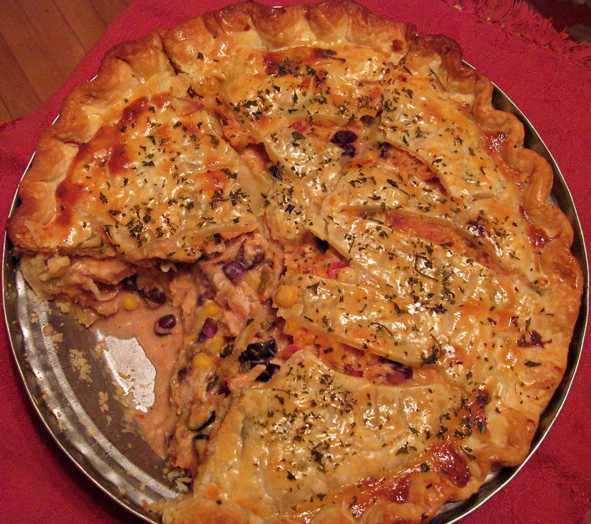 Southwestern Turkey Pie