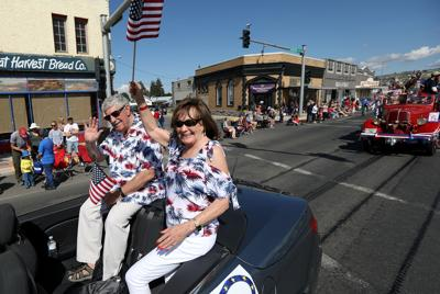 Grand Marshals of Butte's July 4th parade