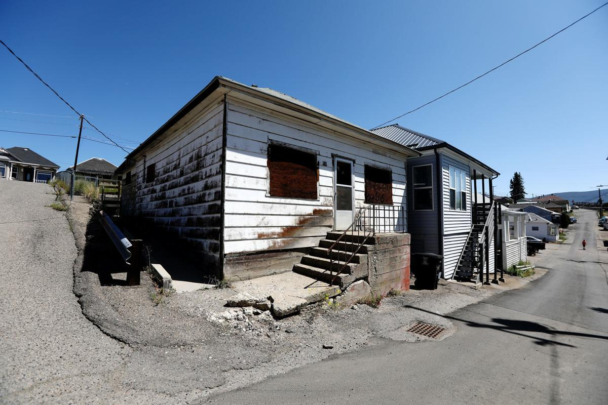 Vacant property in Uptown Butte