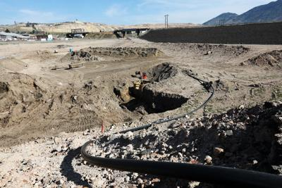 Cleanup of the Parrot Tailings continues
