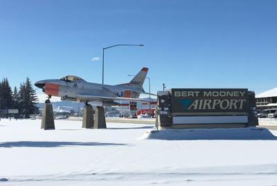 Bert Mooney Airport Sign