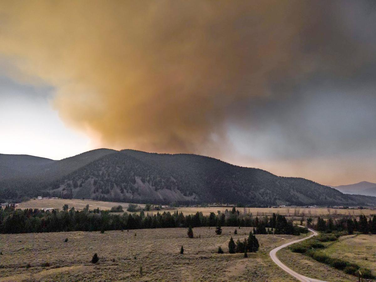 Alder Creek fire